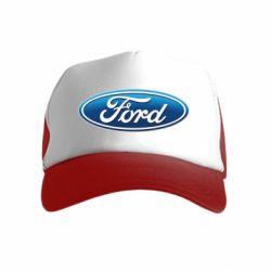 Детская кепка-тракер Ford 3D Logo