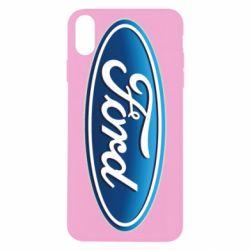 Чехол для iPhone X/Xs Ford 3D Logo