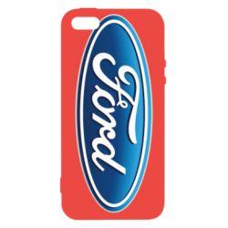 Чехол для iPhone5/5S/SE Ford 3D Logo