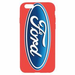 Чехол для iPhone 6/6S Ford 3D Logo