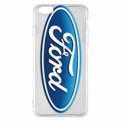 Чехол для iPhone 6 Plus/6S Plus Ford 3D Logo