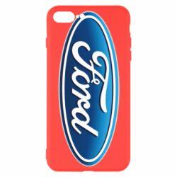 Чехол для iPhone 7 Plus Ford 3D Logo