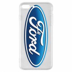 Чехол для iPhone 8 Plus Ford 3D Logo