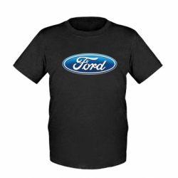 Детская футболка Ford 3D Logo - FatLine