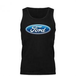Мужская майка Ford 3D Logo - FatLine