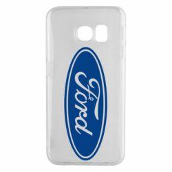 Чехол для Samsung S6 EDGE Ford Logo