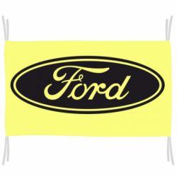 Флаг Ford Logo