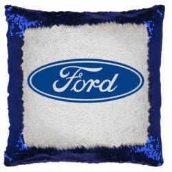 Подушка-хамелеон Ford Logo