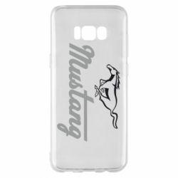 Чехол для Samsung S8+ Ford Mustang