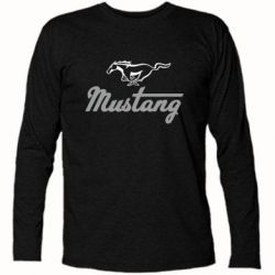 Футболка с длинным рукавом Ford Mustang - FatLine