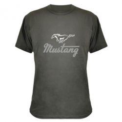 Камуфляжная футболка Ford Mustang - FatLine