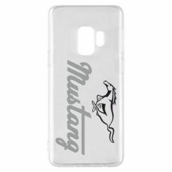 Чехол для Samsung S9 Ford Mustang