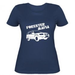 Женская футболка Forester Mafia