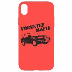 Чехол для iPhone XR Forester Mafia