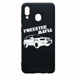 Чехол для Samsung A20 Forester Mafia