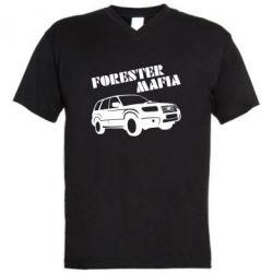 Мужская футболка  с V-образным вырезом Forester Mafia