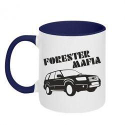 Кружка двухцветная Forester Mafia