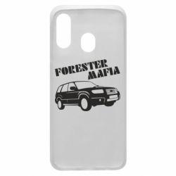 Чехол для Samsung A40 Forester Mafia