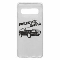 Чехол для Samsung S10 Forester Mafia