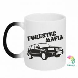 Кружка-хамелеон Forester Mafia
