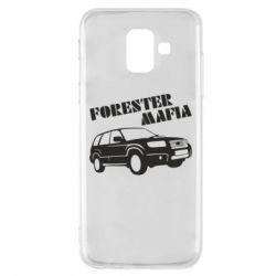 Чехол для Samsung A6 2018 Forester Mafia