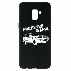 Чехол для Samsung A8+ 2018 Forester Mafia