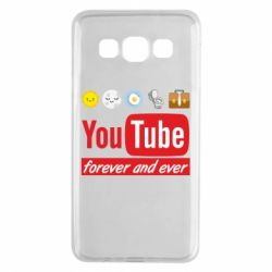 Чохол для Samsung A3 2015 Forever and ever emoji's life youtube