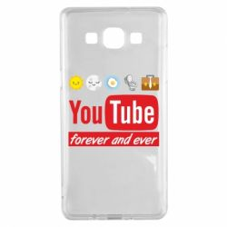 Чохол для Samsung A5 2015 Forever and ever emoji's life youtube