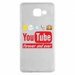 Чохол для Samsung A5 2016 Forever and ever emoji's life youtube