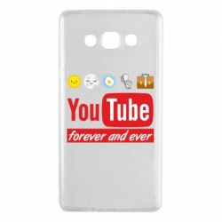 Чохол для Samsung A7 2015 Forever and ever emoji's life youtube