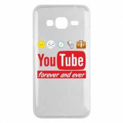 Чохол для Samsung J3 2016 Forever and ever emoji's life youtube