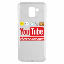 Чохол для Samsung J6 Forever and ever emoji's life youtube
