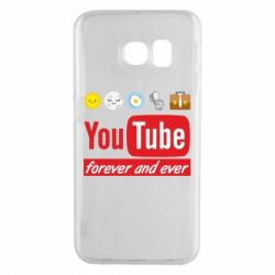Чохол для Samsung S6 EDGE Forever and ever emoji's life youtube