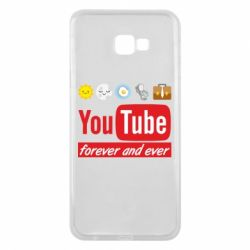 Чохол для Samsung J4 Plus 2018 Forever and ever emoji's life youtube