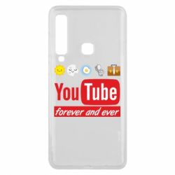 Чохол для Samsung A9 2018 Forever and ever emoji's life youtube