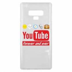 Чохол для Samsung Note 9 Forever and ever emoji's life youtube