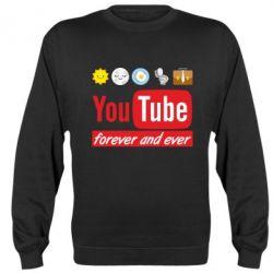 Реглан (світшот) Forever and ever emoji's life youtube