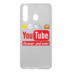 Чохол для Samsung A60 Forever and ever emoji's life youtube