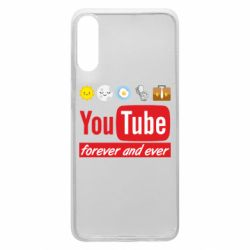Чохол для Samsung A70 Forever and ever emoji's life youtube