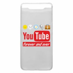 Чохол для Samsung A80 Forever and ever emoji's life youtube