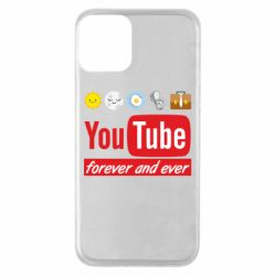 Чохол для iPhone 11 Forever and ever emoji's life youtube