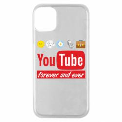Чохол для iPhone 11 Pro Forever and ever emoji's life youtube