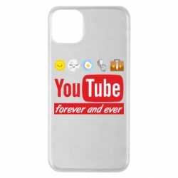 Чохол для iPhone 11 Pro Max Forever and ever emoji's life youtube