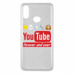 Чохол для Samsung A10s Forever and ever emoji's life youtube