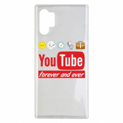 Чохол для Samsung Note 10 Plus Forever and ever emoji's life youtube