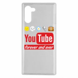 Чохол для Samsung Note 10 Forever and ever emoji's life youtube
