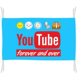 Прапор Forever and ever emoji's life youtube
