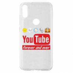 Чохол для Xiaomi Mi Play Forever and ever emoji's life youtube