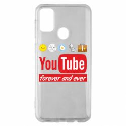 Чохол для Samsung M30s Forever and ever emoji's life youtube