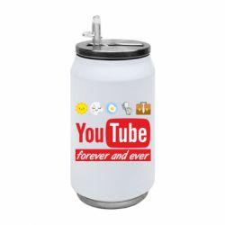 Термобанка 350ml Forever and ever emoji's life youtube